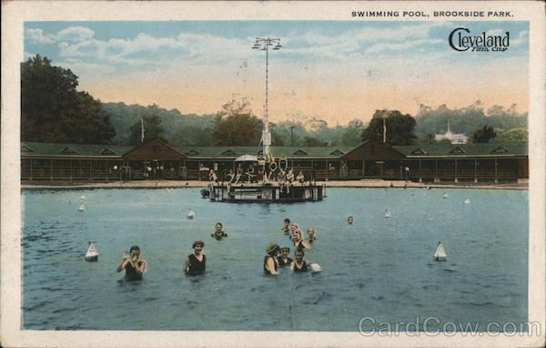 Swimming Pool, Brookside Park Cleveland Ohio
