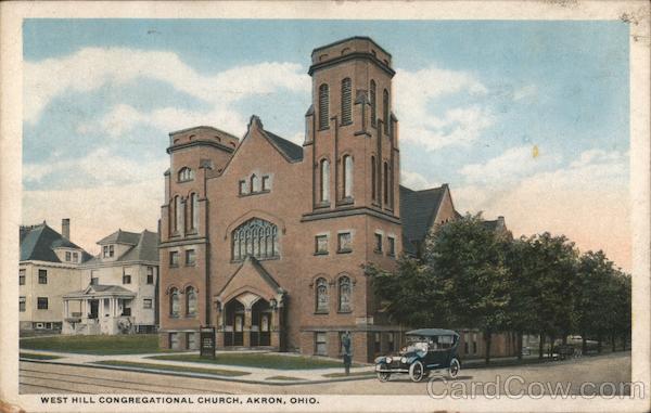 West Hill Congregational Church Akron Ohio
