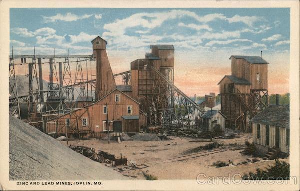 Lead And Zinc Mine Joplin, MO