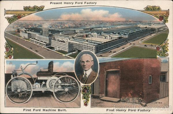 Present Henry Ford Factory Detroit Michigan