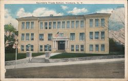 Saunders Trade School Postcard