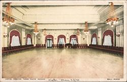 Hotel Deming Ball Room Postcard