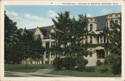Holden Hall, College of Wooster