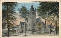 First Presybterian Church Postcard