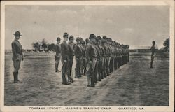 "Company ""Front"", Marine's Training Camp"