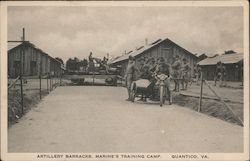 Artillery Barracks, Marine's Training Camp