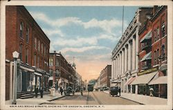 Main and Broad Streets, Showing the Oneonta