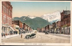 Twenty-Fifth Street Postcard