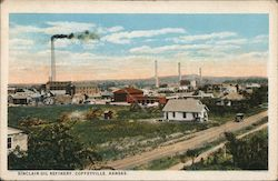 Sinclair Oil Refinery Postcard
