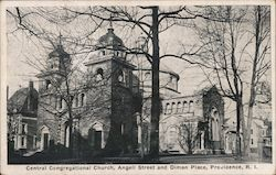 Central Congregational Church, Angell Street and Diman Place
