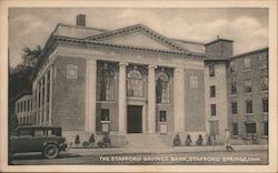 The Stafford Savings Bank Postcard