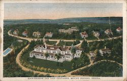 Hawthorne Inn and Cottages Postcard