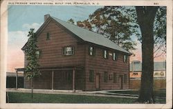 Old Friends' Meeting House, Built 1788 Postcard