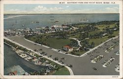 Bayfront Park and Yacht Basin Postcard