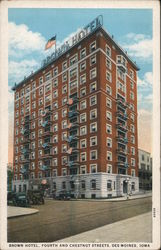 Brown Hotel, Fourth and Chestnut Streets