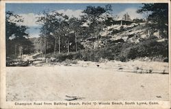 Champion Road From Bathing Beach, Point 'O Woods Beach