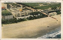 Bird's Eye View of Hotel Coquina and Atlantic Ocean Waterfront