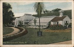 High Point Conservatory Postcard