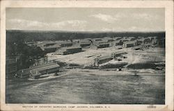 Section of Infantry Barracks - Camp Jackson