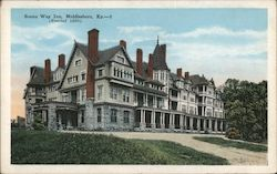 Boone Way Inn, Erected 1890 Postcard