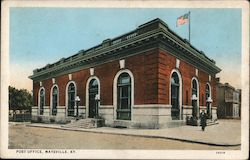 Post Office Maysville, KY Postcard
