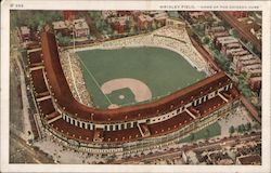 "Wrigley Field, ""Home of the Chicago Cubs"" Postcard"