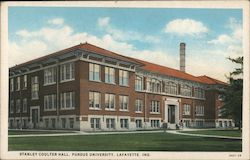 Stanley Coulter Hall, Purdue University Postcard