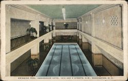Swimming Pool, Ambassador Hotel, 14th and K Streets, N.W.