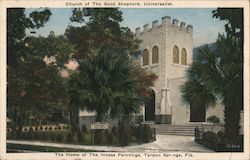 Church of The Good Shepherd, Universalist, Home of The Inness Paintings Postcard