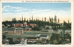 Hospital and Barracks, Puget Sound Navy Yard