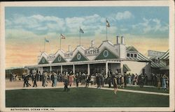 Bathhouses Postcard