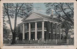 The Mabry Home, Built in 1850 Selma, AL Postcard