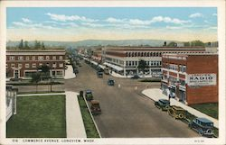 Commerce Avenue Postcard