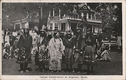 Indian Celebration at Algonac, Mich