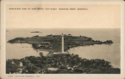 Bird's-Eye View of East Point, Showing Perry Memorial