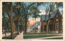 Mahoning Avenue, Looking North Postcard