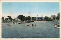 View of Yacht Club Postcard