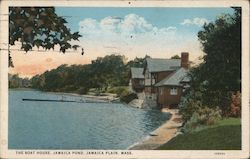 The Boat House, Jamaica Pond