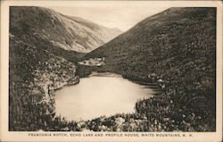 Franconia Notch, Echo Lake and Profile House