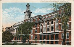 Hospital St. Vincent De Paul Postcard