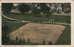 Tennis Court, Cobb's Hill Reservoir