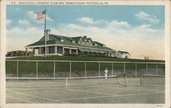 Schuylkill Country Club and Tennis Court