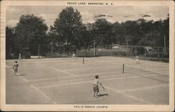 Vail's Tennis Courts, Peach Lake