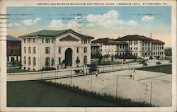 Central and Science Buildings and Tennis Court, Carnegie Tech