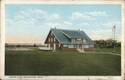 Tennis Club Postcard