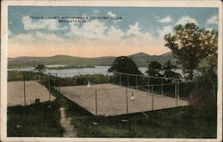 Tennis Court, Kitchawana Country Club