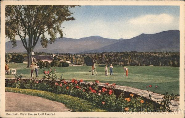 Mountain View House Golf Course, White Mountains Whitefield New Hampshire
