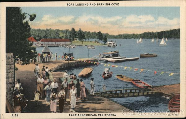 Boat Landing and Bathing Cove Lake Arrowhead California