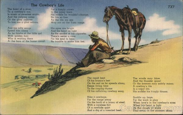 The Cowboys' Life Cowboy Western