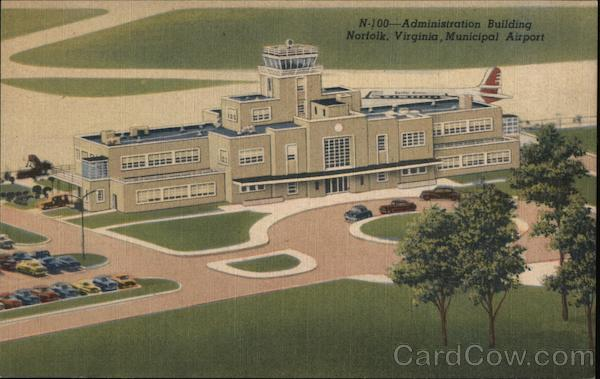 Administration Building, Municipal Airport Norfolk Virginia